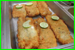 Fried Fish Dinner  for Private Charter Key West